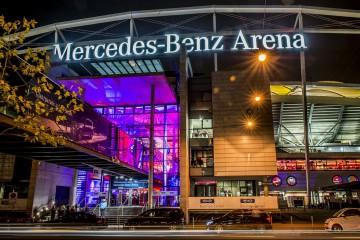 Mercedes Benz Arena Kachel