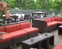 Kameha Suite Frankfurt Terasse