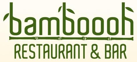 Bamboooh Restaurant & Bar Logo Gruen