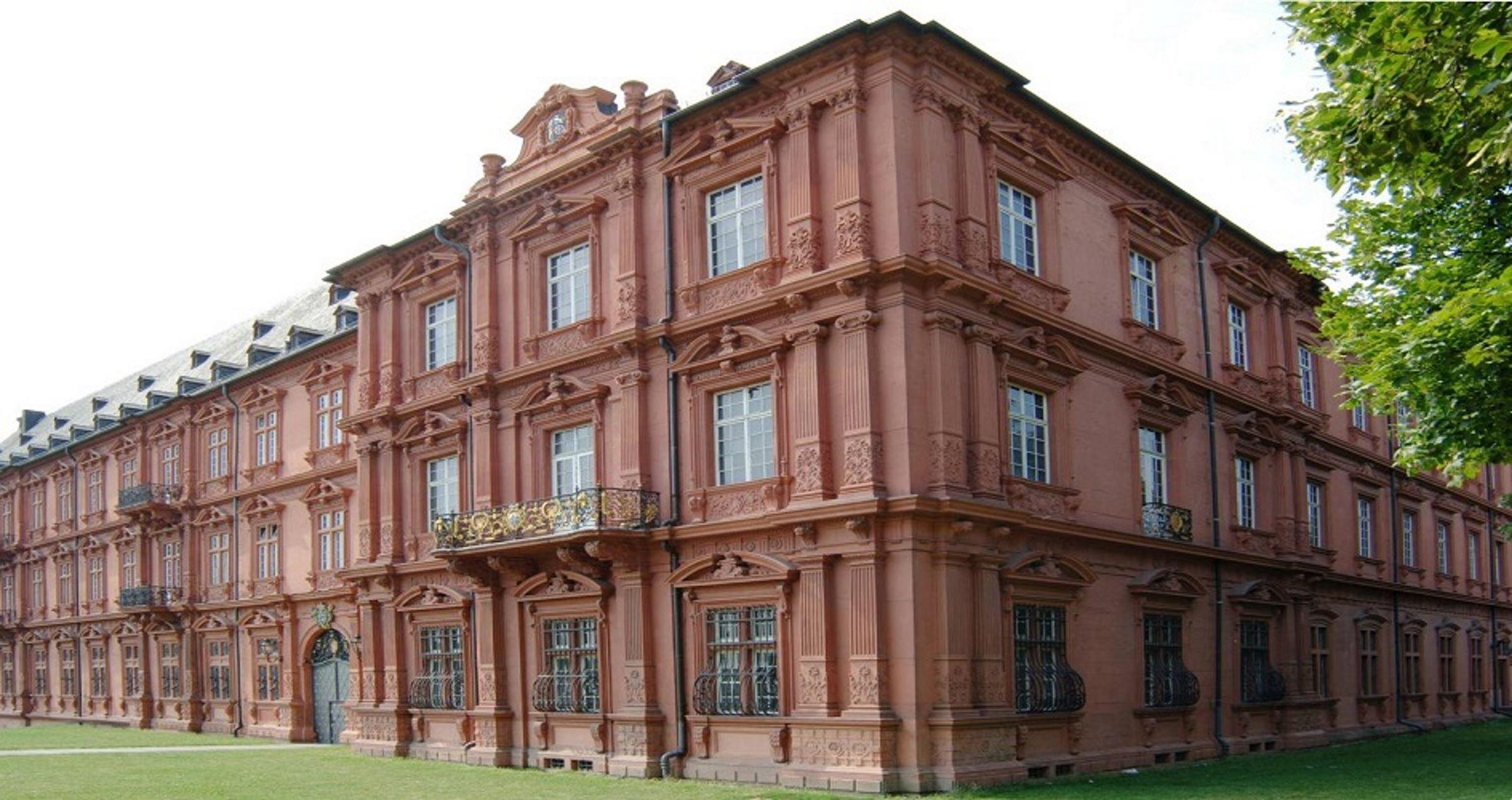 Aussenansicht 2 Kurfürstliches Schloss Mainz