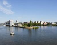 Westhafen Pier 1 Wasser