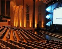 Theatersaal erweitert Vorbühne Forum am Schlosspark