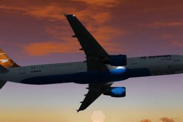 Flugzeug Getonboard
