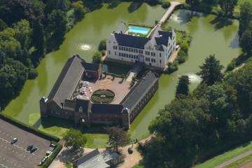 Flugbild Burg Heimerzheim