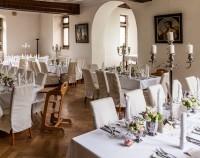 Tischdeko Schloss Schönborn