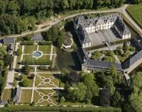 Schloss Ehreshofen Luftansicht