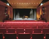 Theatersaal Blick auf Bühne Das K