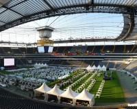 Commerzbank Arena Rasen Veranstaltung